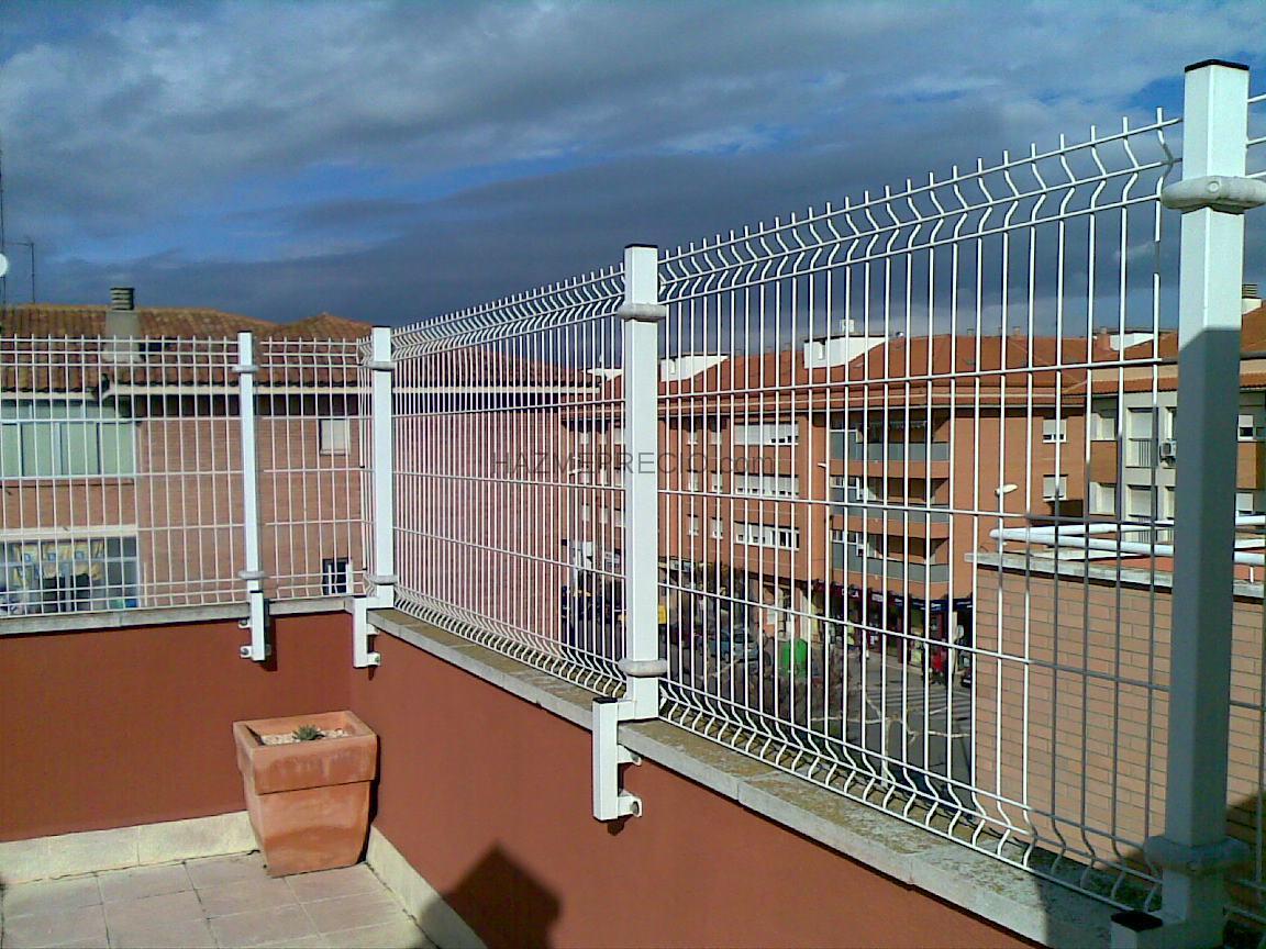 Hierro salvador domenech - Vallas para terrazas ...