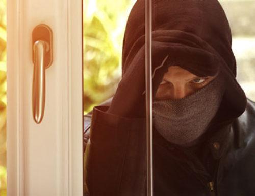 ¡Mantén a los ladrones fuera!