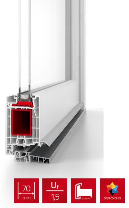 Sistemas de puerta de calle de pvc salvador domenech for Puertas calle pvc precios