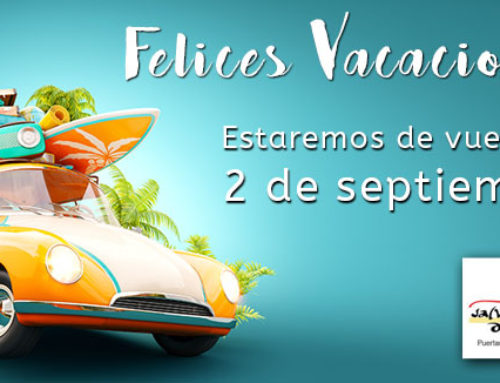 ¡Felices vacaciones, nos vemos el 2 de septiembre!!!