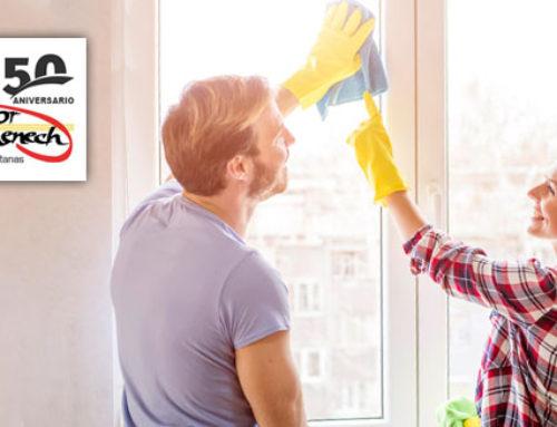 5 Consejos para el correcto mantenimiento de tus ventanas de PVC