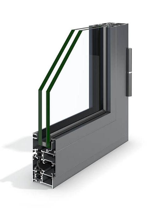Perfil de aluminio Practicable Styl-45 de Codeval