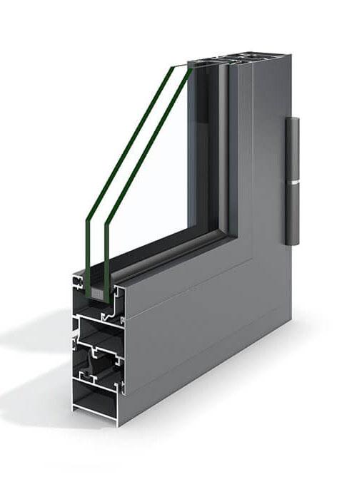 Perfil de aluminio Practicable Top-40 de Codeval